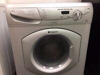 HOTPOINT Washer/Dryer 2in1 - silver - SUPER SILENT