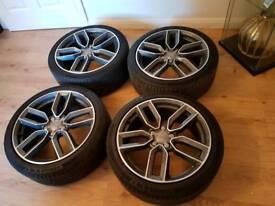 Genuine 18'' 8V Audi RS3 S3 A3 Alloy Wheels