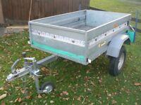 trailer galvanised 5 x 3