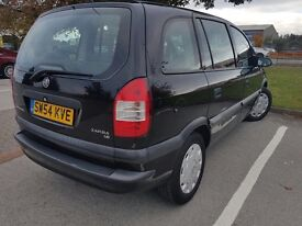 2005 Vauxhall Zafira 1.6 5dr 7 seater, 11 month MOT