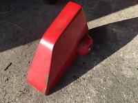 Caravan hitch &wheel lock