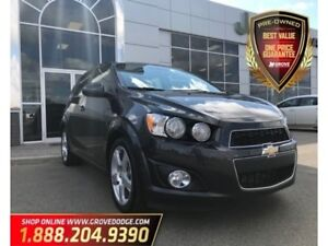 2016 Chevrolet Sonic LTZ| Low KM| Leather| Sunroof| Remote Start