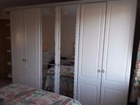 Ivory Schreiber Bedroom Furniture: Wardrobes, Bedside Units. Chest of Drawers, Mirror