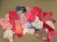 Girls 6-9 months clothing bundle (over 70 items)