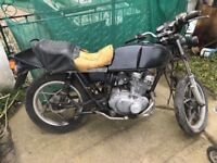 1982 Suzuki GSX 250 Classic breaking for spares message for details.