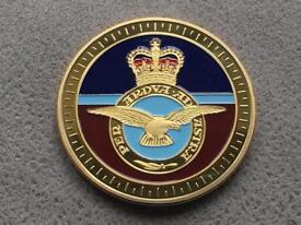 RAF Anniversary Coin