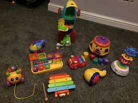Baby/ young toddler toy bundle Fisher Price, Little Tikes...