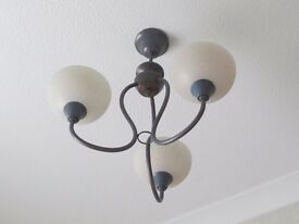 Matching pair of ceiling lights