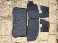 Vauxhall Adam car mats & boot liner