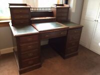 SOLD - Mahogany Writing Desk / Bureau