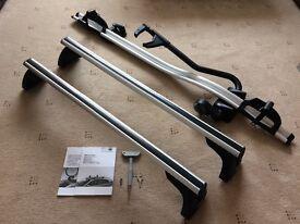Genuine BMW roof rack bars & cycle carrier