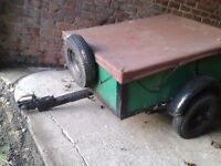 Car Trailer 4' x 3' box