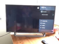 """Philips 43"""" Smart 4K UHD Ambilight TV with HDR"""
