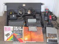 Vintage ZX Spectrum Computer