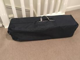 Mamas and papas travel cot & extra mattress