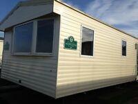 3 BED STATIC CARVAN 8 PERSON TWO W/C GREENACRES PORTHMADOG