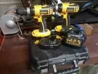 Dewalt 18v cordless drills