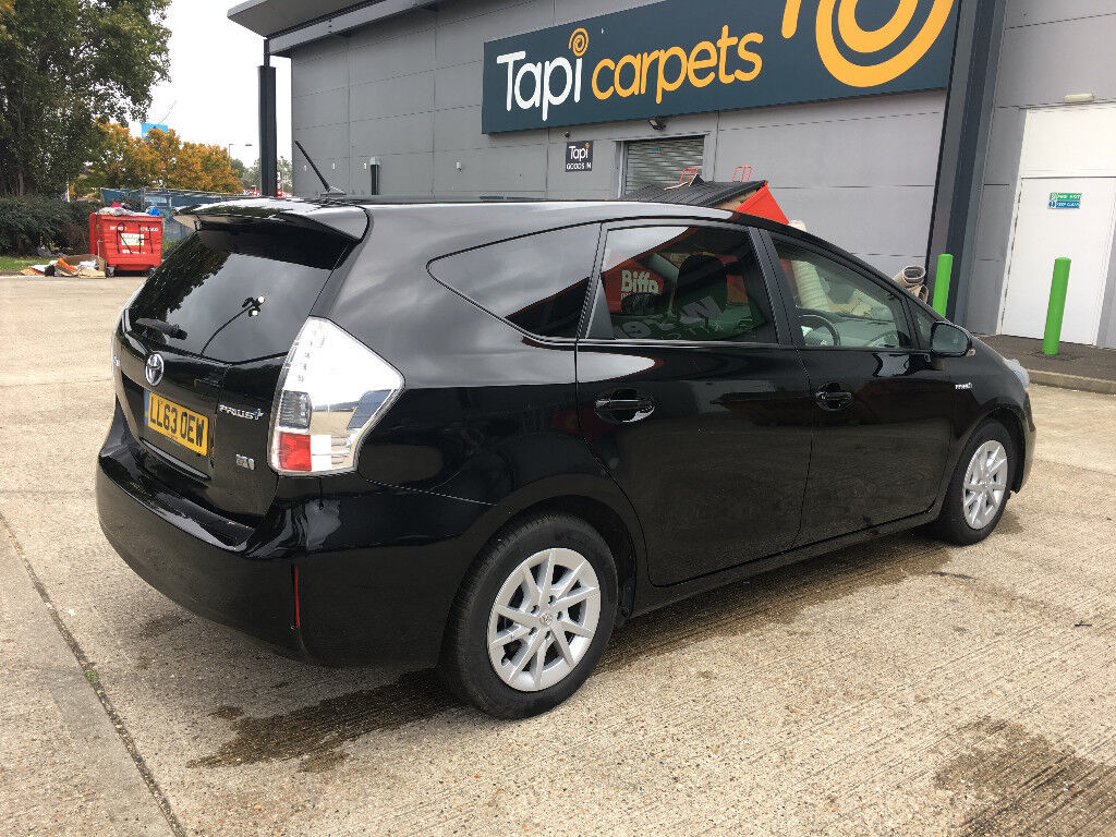 2014 toyota prius plus icon hybrid 7 seater, 1 owner from new, hpi clear 100%