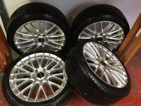 Brand New Alloys & Tyres