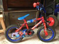 "Child's 12"" Spiderman Bike"
