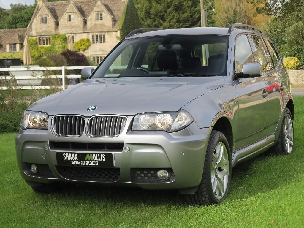 bmw x3 3 0 sd m sport auto 07 79328 miles fsh sat nav cd changer media package in bampton. Black Bedroom Furniture Sets. Home Design Ideas