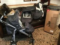 Silver Cross 3D complete pram system from new born upwards