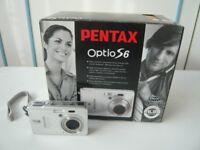 Pentax Digital Camera Optio S6