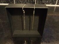 Sterling silve droplet earrings