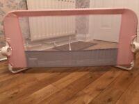 Lindham pink bed rail