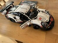 LEGO Technic Porsche 911 RSR (42096) With Box, Instructions And Spares!