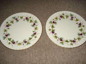 royal worcester bacchanal plates