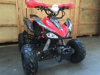 125cc Quad bike new 2017 model. Automatic Reverse Speedo. FREE BODY ARMOUR