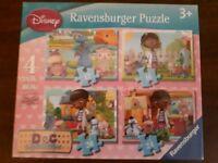 Disney Doc McStuffin Ravensburger puzzles