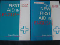 First Aid in English Colour Edition + Answers to The New First Aid in English (SET) Angus Maciver