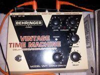 VINTAGE TIME MACHINE ECHO/DELAY slapback/dub reggae/sci-fi sound effect machine