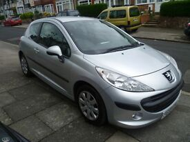 PEUGEOT 207 HDi 1.4L WITH A FULL MOT, FULL HISTORY, VERY TIDY & ONLY £30 A YEAR TAX