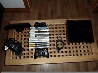 Xbox 360 With Games,Kinect,2 Controllers and more