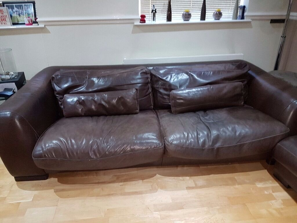 Leather Sofa By Incanto Italy In North West London London Gumtree