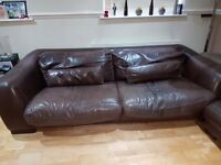 Leather Sofa by Incanto Italy
