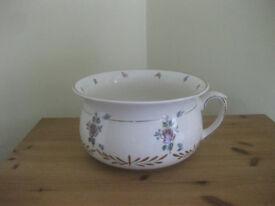 Lovely chamber pot plant holder - good condition