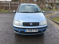2005 Fiat Punto 1.2 8v Dynamic 3dr Manual @07445775115