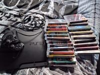 320gb PS3 slim, with 22 games + controller