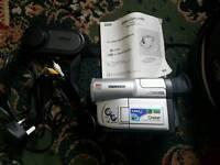 Samsung 8mm vp l800 camcorder vintage rare