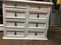 Sturdy White Chest of Drawers