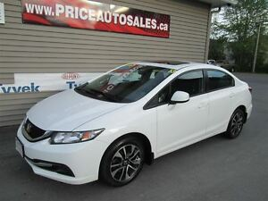 2013 Honda Civic SUNROOF-HEATED SEATS - BACK-UP CAM!!!