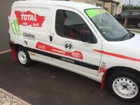 Dakar fun styled van. £1250 This van stands out and gets plenty of attention