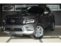 2017 Infiniti QX80 8 pass, Navi, DVD, BOSE, 360 cam, Heated Markham / York Region Toronto (GTA) Preview