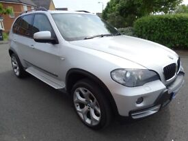 2008 BMW X5 3.0 D SE 7 SEATER 4WD AUTO FULL MAIN DEALER HISTORY LOW MILES LOOK!!