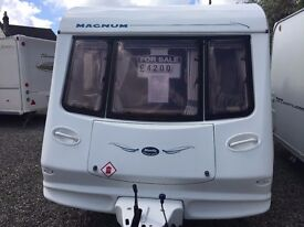2002 Compass Magnum 524/4 Beautifully well looked after 4 berth caravan