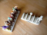 collectable china toast racks